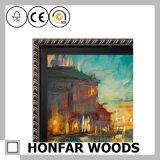 Естественная рамка фотоего древесины сосенки для выдвиженческого подарка