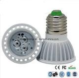 セリウムおよびRhos E27 3W LEDライト