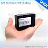 시간 간격까지 저장하는 데이터를 가진 소형 크기 GPS 차량 그리고 기관자전차 추적자