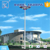 15/18/20/25 / 35m Lâmpada de inundação LED / HPS Iluminação de mastro alto de aço inoxidável (BDG87)