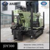 Piattaforma di produzione del pozzo d'acqua di formazione del hard rock Jdy300 per profondità di 300m