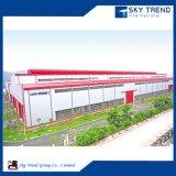 Costruzione d'acciaio di prefabbricazione delle costruzioni del gruppo di lavoro industriale delle strutture d'acciaio