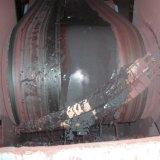 Producto de limpieza de discos de cerámica de la banda transportadora para la planta del cemento