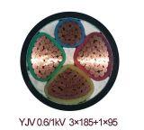Силовой кабель изолированный XLPE (Al/XLPE/PVC)