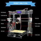 소매상인 치과 3D 인쇄 기계 장비 3D 금속 인쇄 기계 ABS/PLA 필라멘트, 쉬운 회의, OEM ODM 서비스