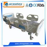 Funktions-Krankenhaus-Bett des Elektromotor ABS Handlauf-5 für Verkauf (GT-BE5021)
