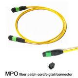 Gebildet Faser-Optikkabel im China-MPO/im Zopf/im Verbinder/im Adapter MPO