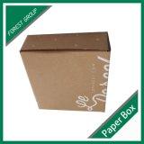 Nuevo diseño personalizado caja de papel corrugado