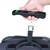 escala eletrônica portátil da bagagem de 50kg/10g Digitas