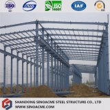 Vor-Ausgeführtes strukturelles Platz-Rahmen-Stahllager /Shed für Fabrik