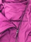 Nueva chaqueta de la suposición del diseño para las mujeres con el cierre relámpago lleno