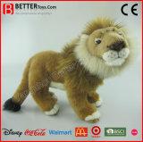 ASTM realistisches weiches Spielzeug-stehende Löwe-Löwin