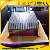 Profil en aluminium de radiateur d'extrusion d'usine pour l'industrie d'Atomotive