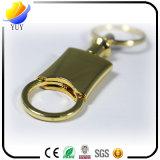 Keyring agradable del metal del empuje del oro