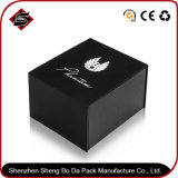 Rectángulo de regalo de papel de empaquetado modificado para requisitos particulares de la impresión para la joyería