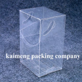 Rectángulo de empaquetado del regalo plástico claro promocional con la impresión del arqueamiento (rectángulo de empaquetado)