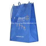 La publicidad promocional del totalizador del regalo no tejida recicla el bolso de compras