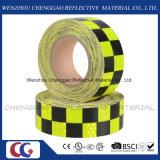 Leuchtendes Leuchtstoff Checkered reflektierendes Band für Verkehrszeichen (C3500-G)