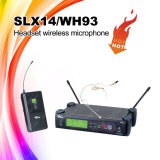 Система микрофона UHF Slx14/Wl93 миниая беспроволочная спрятанная, микрофон Lavalier