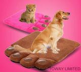 Pattes en laine de corail Pet Pet Pads Lits Coussins de chien lavables
