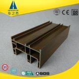 Hst88-01b farbenreiches dunkler Brown UPVC Profil für Fenster-Rahmen