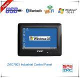 PC панели касания Ce выигрыша 7 дюймов промышленный с миниым USB и WiFi (ZKC7803)
