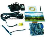 16 : 9 module d'affichage à cristaux liquides d'écran tactile de 7 pouces avec HDMI ont entré pour l'application industrielle