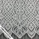 Tessuto reale del merletto della guarnizione di disegno per il vestito da cerimonia nuziale