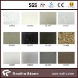 Panneau multicolore de pierre de quartz de la pierre 20mm de quartz