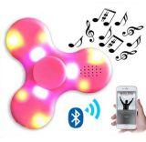Fileur de plastique neuf de cadeau de main de doigt d'éclairage LED de jouet de personne remuante de Hotest avec le haut-parleur de Bluetooth