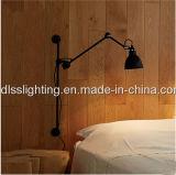 Schwarzes Eisen-Aluminiumwand-Lampen-populäre Form für Hotle erstellen
