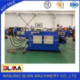 Machine à cintrer de pipe hydraulique en acier en métal de fer de constructeur