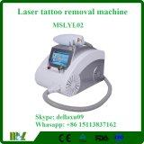Machine Mslyl02A van de Verwijdering van de Tatoegering van de Laser van Nd YAG van de Salon van de schoonheid de Draagbare