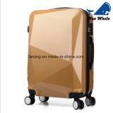 Koffers van de Reis van de Zakken ABS+PC van het Karretje van de Oppervlakte van de diamant de Scherpe