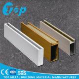Il rivestimento di legno 2017 di Foshan ha perforato il soffitto di alluminio del deflettore