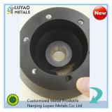 Aluminium 6061, das mit Puder-Beschichtung/Aluminium CNC Precisiom der maschinellen Bearbeitung maschinell bearbeitet