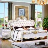 Bâti et garde-robe pour les meubles antiques de chambre à coucher (W803B)
