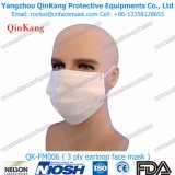 Medizinischer Bedarf chirurgische Earloop Gesichtsmaske der Cer-Bescheinigungs-3-Ply