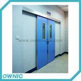 Automatischer schiebender Krankenhaus-Tür-Doppelt-geöffneter eingebauter Typ für Flur und Geschäfts-Raum