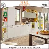 Moderner Entwurfs-hohe glatte Küche-Schrank-hölzerne Möbel