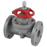 Пластичный мембранный клапан (G41F-6S), мембранный клапан FRPP