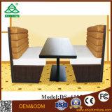 Sofà su ordine del tessuto di disegno moderno della mobilia per sala da pranzo