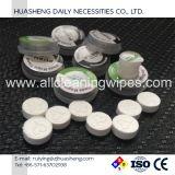Essuie-main comprimé de tablette de coutume de 100%