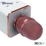 Microphone sans fil de Bluetooth de karaoke de Q7 KTV avec le haut-parleur