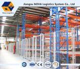 Hochleistungszahnstangen mit blauem Rahmen und orange Träger