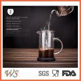 Wschxx027 Heet verkoop het Franse Koffiezetapparaat van de Pers Met de Pers van de Koffie van de Basis van het Silicone