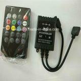20 Schlüssel-IR Musik-Ferncontroller für Licht RGB-LED