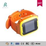 子供の多彩な表示防水R13sのための個人的なGPSのスマートな腕時計の追跡者