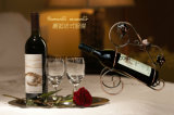 Estante negro creativo barato del vino del metal de la vendimia