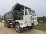 HOWO 70t 덤프 트럭, 탄광업 팁 주는 사람 트랙터 트럭